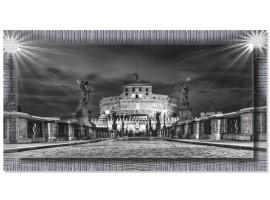 Quadro in tela con cornice Roma Castel Sant'Angelo