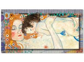 Quadro in tela con cornice La Maternità