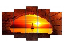 Finestra sul tramonto (five)