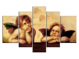 I Putti di Raffaello (five tela)