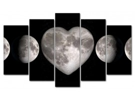 Heart Moon (five in tela)
