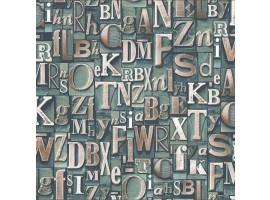 Lettere Tipografiche - Carta da parati (ambientazione)