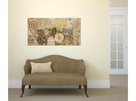 Quadro su vetro Klimt Style