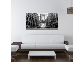 Quadro su vetro Manhattan B&W