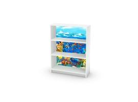 adesivo mobile acquario ambientazione