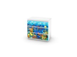 adesivo cassettiera acquario amb