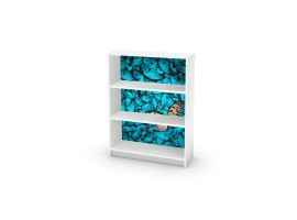 adesivo mobile farfalle ambientazione