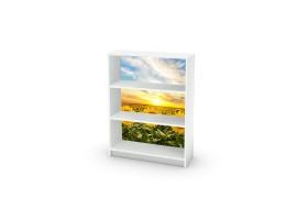 adesivo mobile girasoli ambientazione