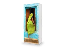 adesivo armadio hidden ambientazione