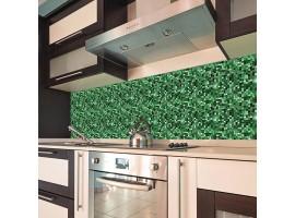 paraschizzi adesivo Mosaico verde