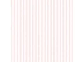 Carta da parati a righe sottili rosa e bianche