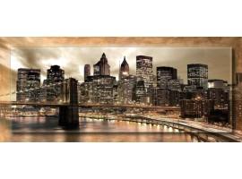 New York con cornice | Quadro moderno su tela