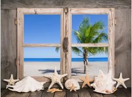 quadro effetto finestra country marine