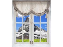 quadro effetto finestra sulla vetta