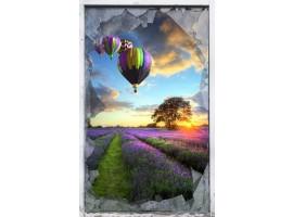 quadro effetto finestra rotta sulla provenza