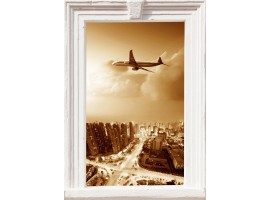 quadro effetto finestra elegant