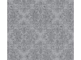 Damasco glitter grigio