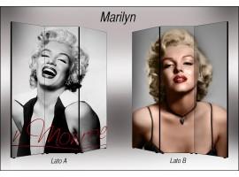 Marilyn Monroe | Separè paravento divisorio bifacciale