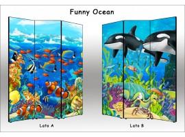 Funny Ocean | Separè paravento divisorio di alta qualità