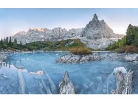 fotomurale Lago di Sorapis