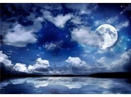 fotomurale cielo stellato