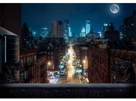 fotomurale new york notte