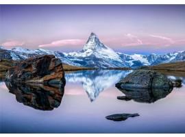 fotomurale vetta di montagna