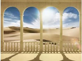 fotomurale archi sul sahara