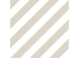 Carta da parati a righe tortora e bianche oblique