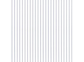 Carta da parati a righe profilate blu e bianche