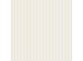 Carta da parati a righe sottili bianche e beige