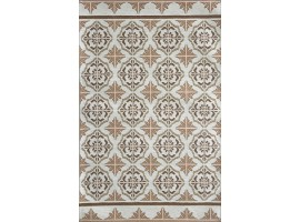 tappeto maiolica beige