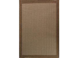 tappeto da esterno corda marrone