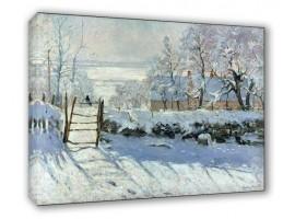 The Magpie   Monet
