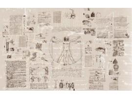 Leonardo Da Vinci | Fotomurale in TNT