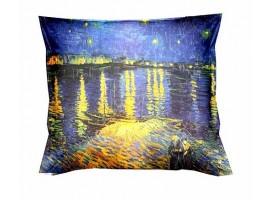 cuscino van gogh notte stellata sul Rodano