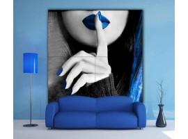 Quadro maxi gigante Blue Silence