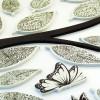 adesivo ramo e farfalle 3d