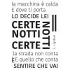 Canzone adesiva Certe Notti Ligabue