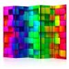 paravento cubi color