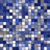 Carta da parati adesiva | Mosaico Blu