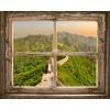 Trompe l'Oeil | Finestra sulla Grande Muraglia