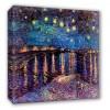 Notte stellata sul Rodano - Van Gogh