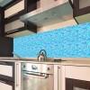 paraschizzi adesivo Mosaico azzurro