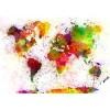 fotomurale mondo colors