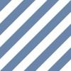 Carta da parati a righe blu e bianche oblique