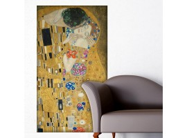 Adesivo Il Bacio di Klimt (ambientazione)