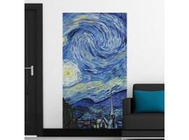 Adesivo Notte Stellata di van Gogh (ambientazione)