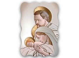Quadro Sacro - Sacred Family Ceramic