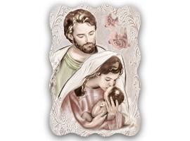 Quadro Sacro - Sacred Family Shabby